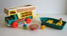 Fisher Price Play Family Camper - My MIL kept this (my hubby had it too) and now our son plays with it!