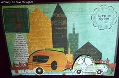 Life Is Good Handmade Graduation or Retirement Card   APENNY4URTHOUGHTS - Cards on ArtFire