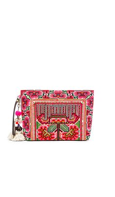 Eliz Pom Clutch JADEtribe  151 Weird Fashion, Messenger Bags, Clutches,  Designer Handbags, def85ee1ca