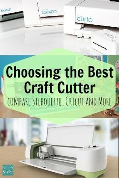 If you are considering buying an electronic craft cutter, you won't want to purchase one without reading this!