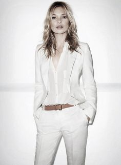 Kate Moss doing the white out