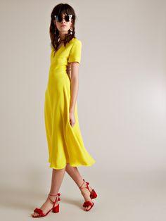 Olga V-neck dress | Roksanda | MATCHESFASHION.COM