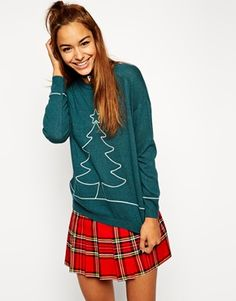 ASOS Holidays Tree Sweater