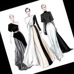 Fashion design sketches 480196379019265450 - Ideas Fashion Design Inspiration Sketches Haute Couture Source by ompelimotiina Dress Design Drawing, Dress Design Sketches, Fashion Design Sketchbook, Dress Drawing, Fashion Design Drawings, Fashion Sketches, Sketch Drawing, Dress Designs, Drawing Art