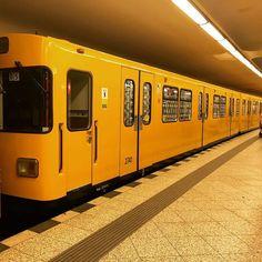 Yellow submarine. #yellowtram