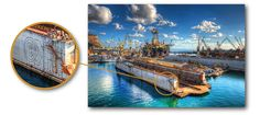 Creative Watermarking - How to Integrate Your Signature into Your Photos - Example 1 - The Docks (HDR)