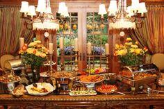 Fall Buffet TableScape