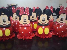 Fiesta Mickey Mouse, Mickey Mouse 1st Birthday, Mickey Y Minnie, Minnie Mouse Party, Mouse Parties, Mickey Baby Showers, Mousse, Biscuit, Cupcakes