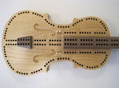Hey, I found this really awesome Etsy listing at https://www.etsy.com/listing/98696273/violin-cribbage-board