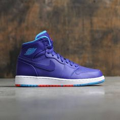 cheaper 32482 1b409 Air Jordan 1 Retro High (GS) Big Kids (deep royal blue   blue  lagoon-infrared 23)