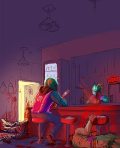 Image result for hotline miami style lowpoly