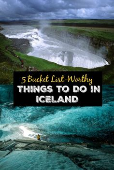 5 Bucket List-Worthy Things to Do in Iceland. Stunning Iceland nature & travel destinations to add to your vacation itinerary. The glaciers, waterfalls, wildlife, and more.