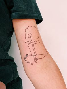 Amazing Artwork, Cool Artwork, Pretty Tattoos, Cute Tattoos, Nike Tattoo, Adventure Time Parties, Adventure Time Tattoo, Shin Tattoo, Motif Simple