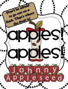 This is a 56 page unit for Johnny Appleseed Day/Week!  There are multiple lessons ready to go with reproducibles.  I made teacher notes for each le...