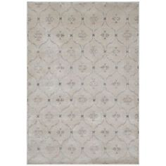 Radiance Geo Medallion 6-Foot 6-Inch X 9-Foot 10-Inch Area Rug in Taupe - BedBathandBeyond.com