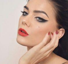 Linda Hallberg - Makeup inspiration