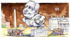 There's something about Larry Summers  | Wuerker/POLITICO