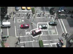 3 Way Street Artist video tracks scary traffic Funny!! - YouTube