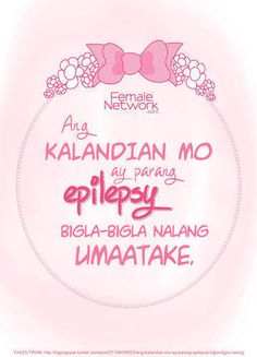 Tagalog Pick Up Lines - Pick Up Lines Tagalog. Cheesy and funny tagalog pick up lines. Romantic, kilig, corny and best tagalog pick up lines Crush Quotes Tagalog, Tagalog Quotes Patama, Tagalog Quotes Funny, Bisaya Quotes, Pinoy Quotes, Sarcasm Quotes, Pick Up Lines Cheesy, Pick Up Lines Funny, Christmas Pick Up Lines