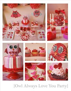 "cute idea since Hayven's birthday is close to Valentine's Day ""Owl always love you"" or ""look whoooo's turning one"""