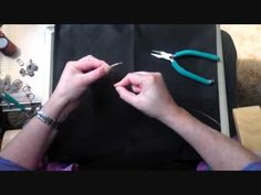 Basic Wire Weaving Tutorial : Learn this to do the Woven Wire Ring Tutorial