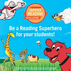 Teachers, be a Reading Superhero for your students this summer by signing them up for the 2016 Summer Reading Challenge! Click through for everything you need to know to get started. #summerreading