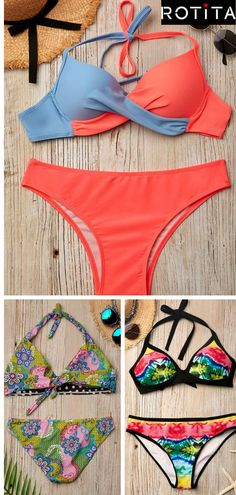 afb67b7d29d This bodycon bikini swimwear set is with off shoulder, sleeveless and  bodycon fit. Perfect