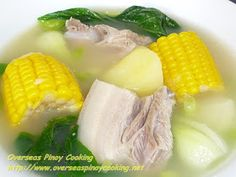 Nilagang Baboy with Sweet Corn