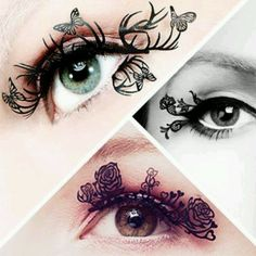 Paper eyelashes by letitia