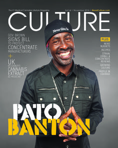 Pato Banton has a four-decade public presence that has increasingly transcended music to convey a singularly positive and often spiritual message. CULTURE chatted with the affable Banton about his music, message and long relationship with cannabis.