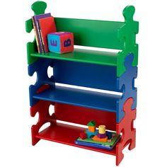 KidKraft Puzzle Bookshelf- Primary, found at TuesdayMorning.com @tuesdayam