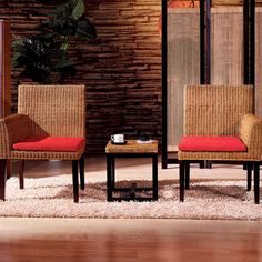 $79 Rattan Chair Tea Table Set @Carolyn Hsu