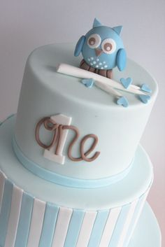 Owl Cake  © Copyright studiocake.com.au 2013