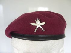 ac9752ba 2 rgr #royal #gurkha rifles airborne beret & cap #badge 16 air