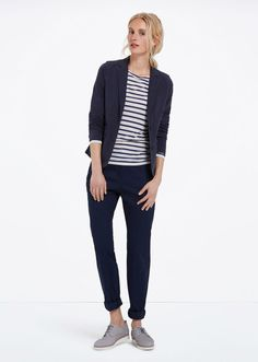 MARC O'POLO, Women, Clothing, Blazer, Jersey blazer