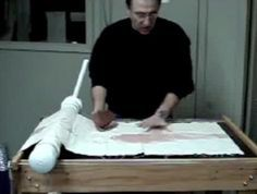 Dale Savoie explains how to make a homemade slab roller from Ceramic Arts Daily Pottery Kiln, Pottery Tools, Ceramic Pottery, Ceramic Tools, Clay Tools, Ceramic Artists, Ceramic Techniques, Pottery Techniques, Clay Studio
