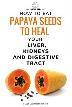 The things you don�t know about Papaya seeds.