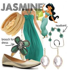 Jasmine by Disney bound Princess Inspired Outfits, Disney Inspired Fashion, Character Inspired Outfits, Princess Style, Disney Fashion, Princess Jasmine, Disney Jasmine, Disney Princess, Cute Disney Outfits