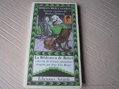 NUEVOS CUENTOS DE BUSTOS DOMECQ.- Borges/ Bioy Casares. Siruela,1991 La Biblioteca de Babel - Foto 1