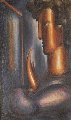 Das Triadische Ballett Postcard Art   Oskar Schlemmer Kunstkarte Türke