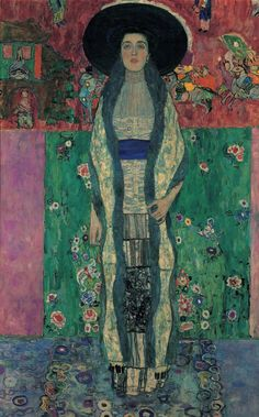 """""""Portrait of Adele Bloch-Bauer II."""" Oil on Canvas by Gustav Klimt. 1912. The Women In Gustav Klimt's Life Come Together For One Juicy Exhibition"""