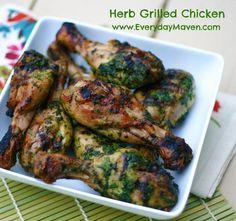 Herb Marinated Grilled Chicken