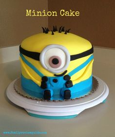 Sunday Sweets: A Marvelous Minion Cake - Family Review Guide