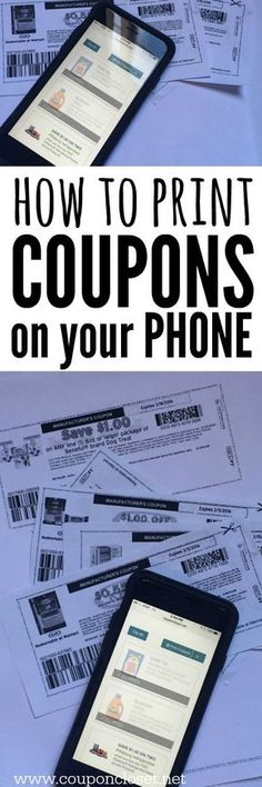 The 12 best coupon sites out there do it yourself pinterest how to print printable coupons from phone now you can print from your computer and fandeluxe Choice Image