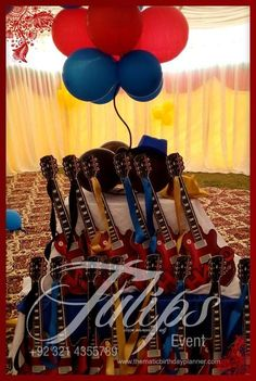 Little Pilot on Plane birthday party theme decoration ideas designed