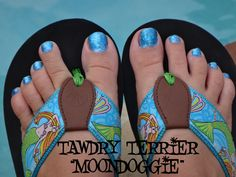 "@TawdryTerrier ""Moondoggie"" - available at https://www.etsy.com/shop/TawdryTerrier #nailpolish #indienailpolish #tawdryterrier"