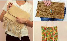 7 modelos de bolsas fáceis para fazer em casa