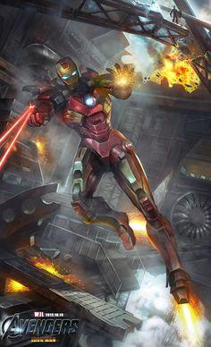 Iron Man by JUNLING.deviantart.com on @deviantART