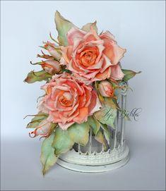 Blog Craft Passion: Róże z foamiranu / Foamiran roses