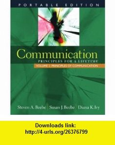 MyCommunicationLab with Single-Volume Pearson eText -- Standalone Access Card -- for Communication (9780205609819) Steven A. Beebe, Susan J. Beebe, Diana K. Ivy , ISBN-10: 0205609813  , ISBN-13: 978-0205609819 ,  , tutorials , pdf , ebook , torrent , downloads , rapidshare , filesonic , hotfile , megaupload , fileserve
